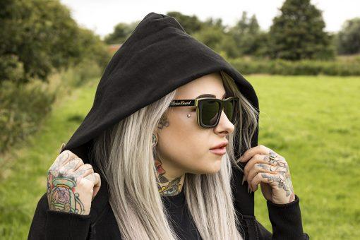 Braw Beard Skateboard Deck Sunglasses
