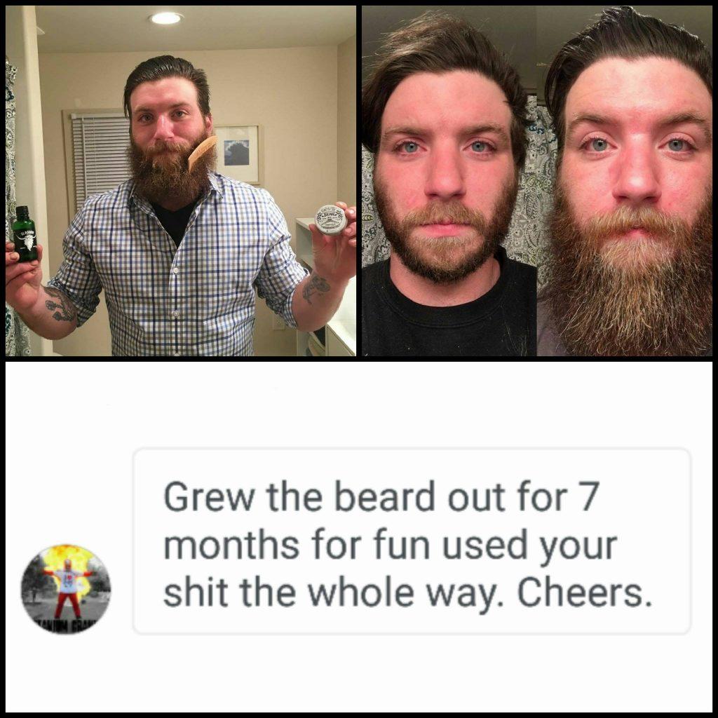 Braw Beard Oils Scotland Uneven Beard