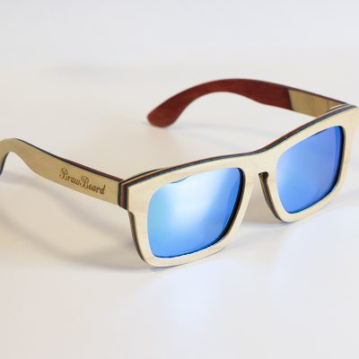 Braw Beard Skateboard Deck Sunglasses