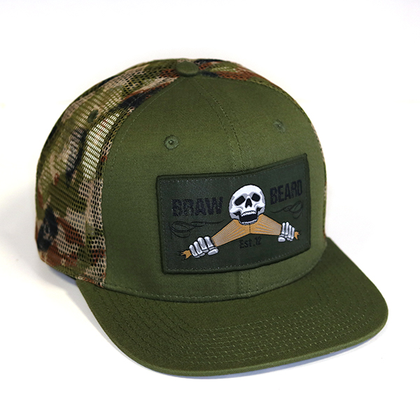 The Braw camo snapback has landed.