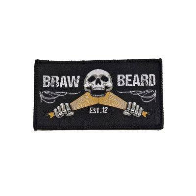 Braw Beard oils black patch