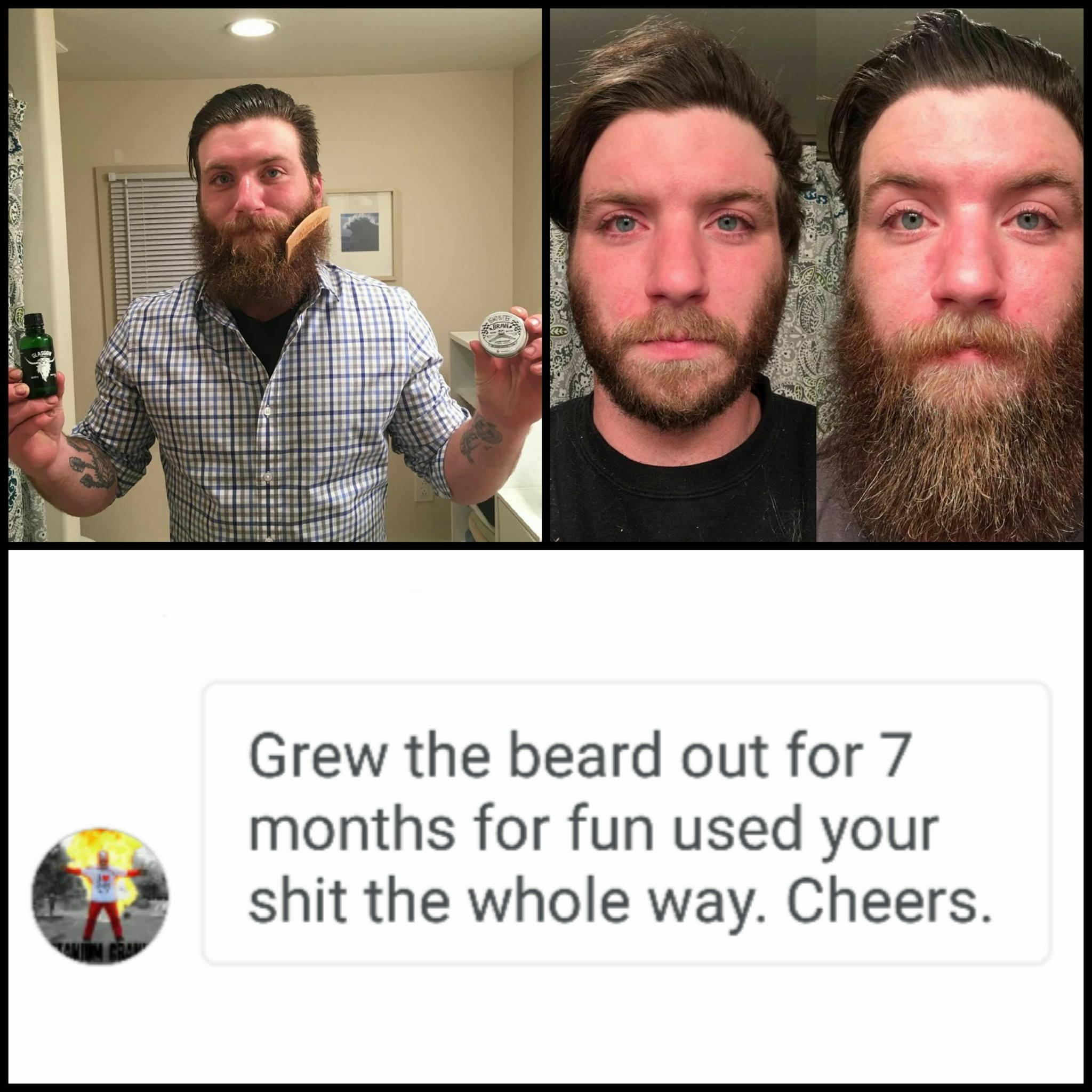 Braw Beard Oils Scotland patchy beard growth