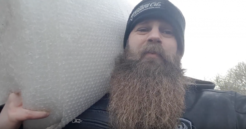 Vlog #004 – Tuesday 12th December 2017 with Braw Beard