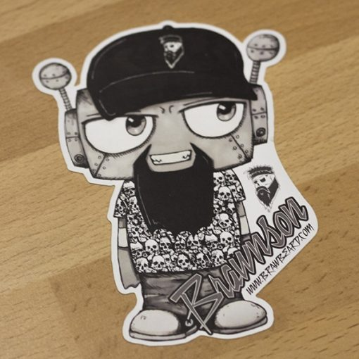 Sticker - Brawnson