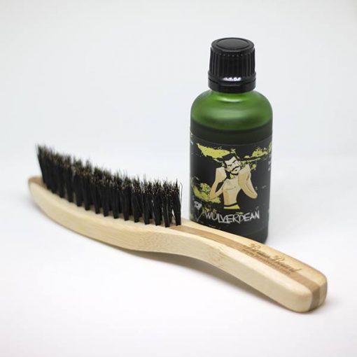 Beard Oil and Brush Pack