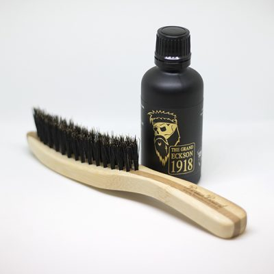 Beard Oil and Brush Pack