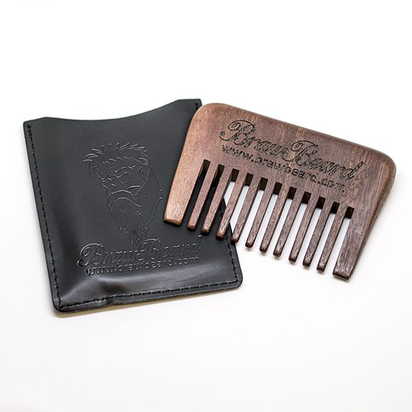 Wooden Pocket Comb