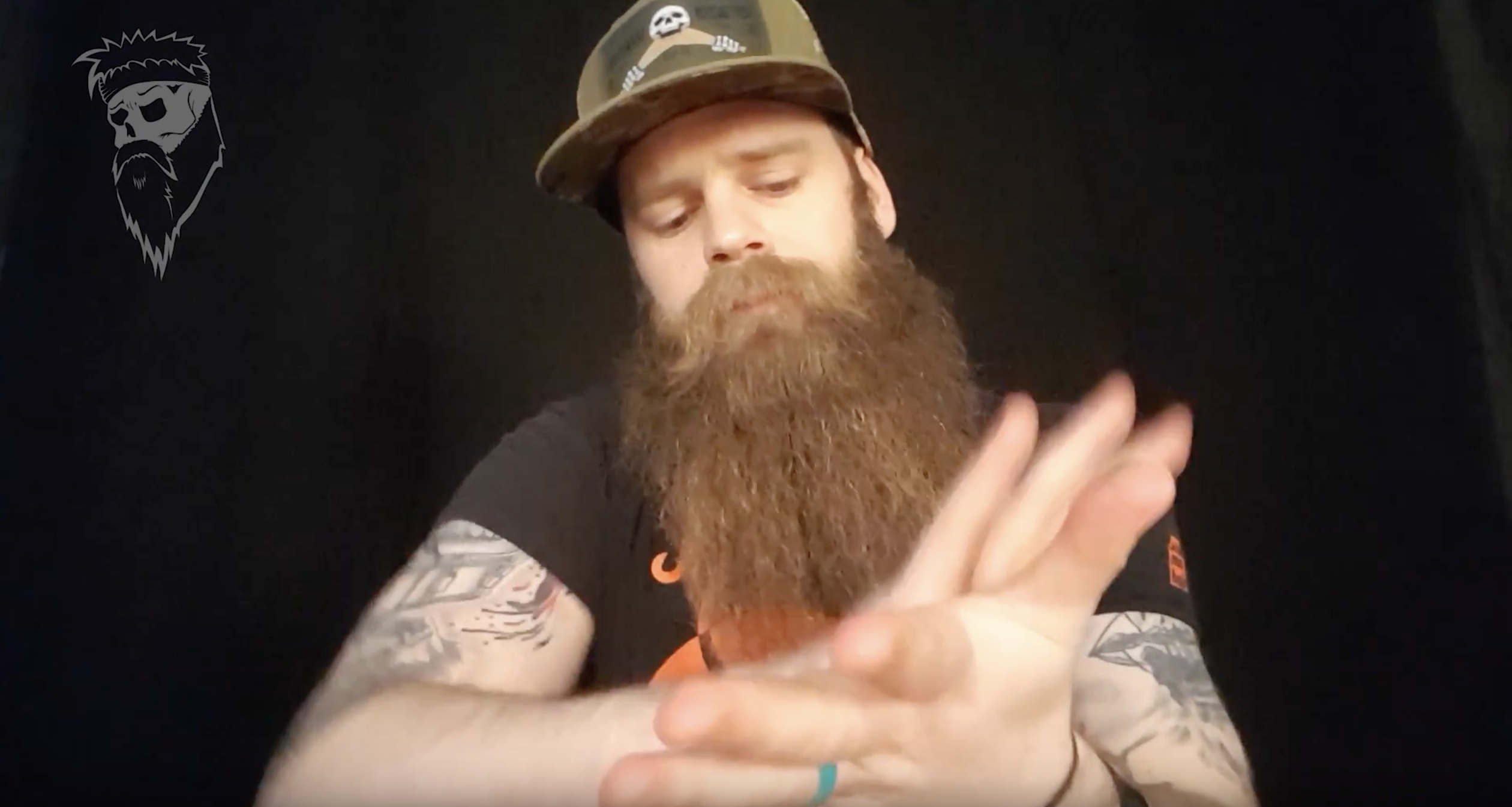 How I keep my beard in shape every day.