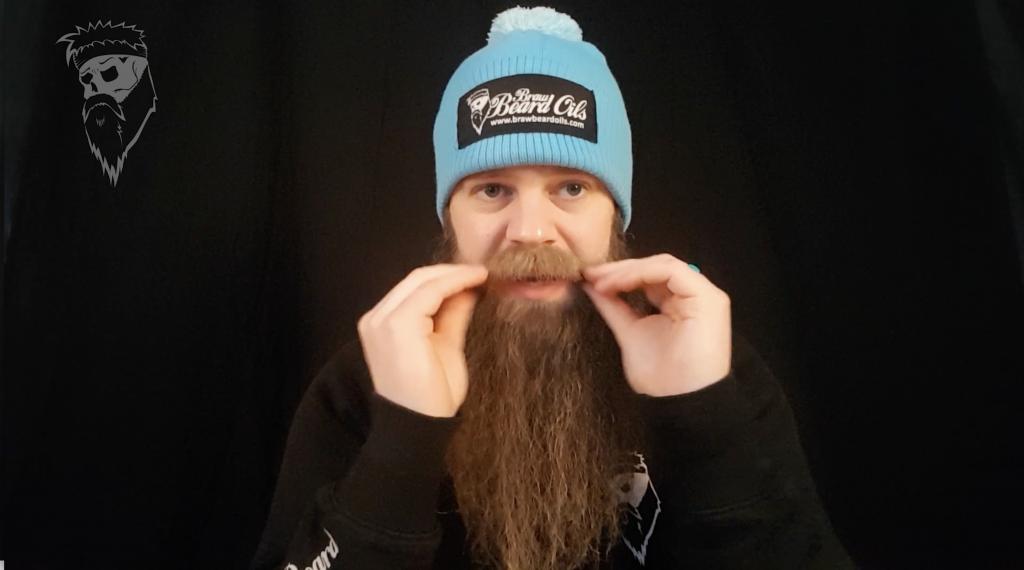 How I avoid eating my moustache.