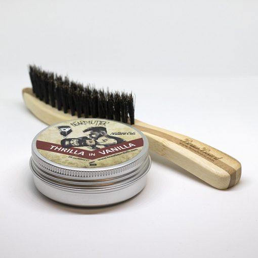 Beard Butter & Brush Pack