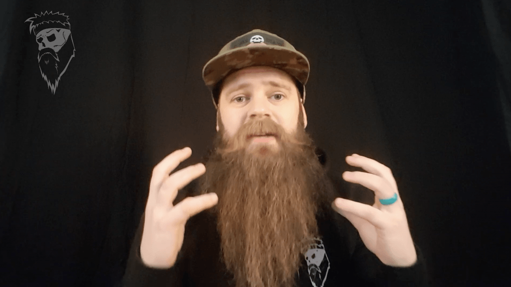 How to apply beard balm the simple way