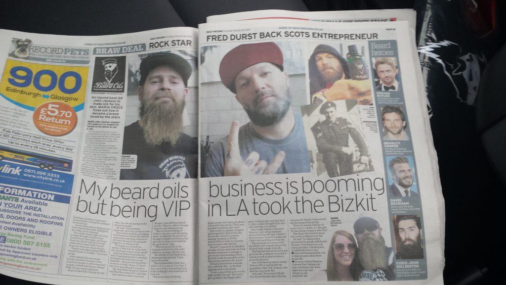 Braw Beard life Scotland