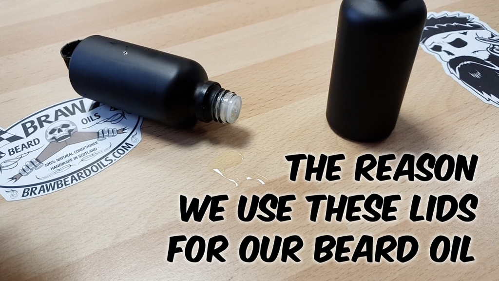 The Reason We Use These Lids For Our Beard Oil