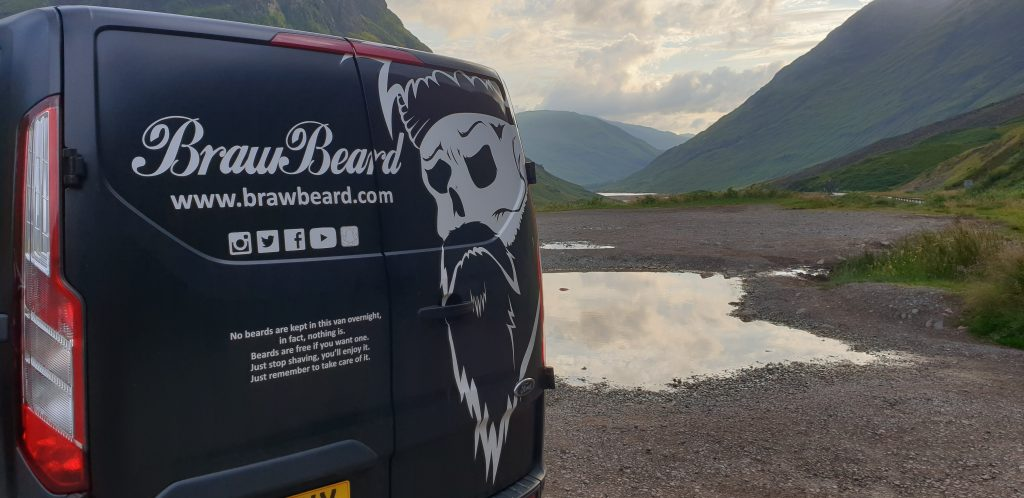 Ford featured Braw Beard in Transit Tales!