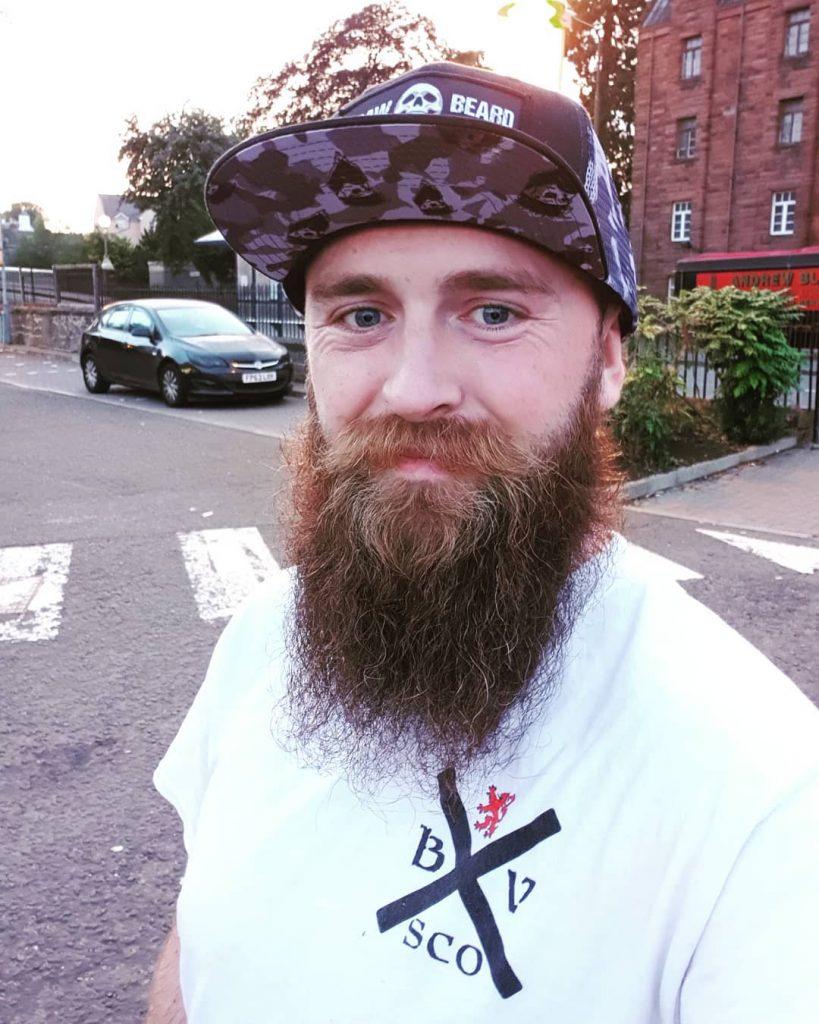 Braw Beard oil Scotland