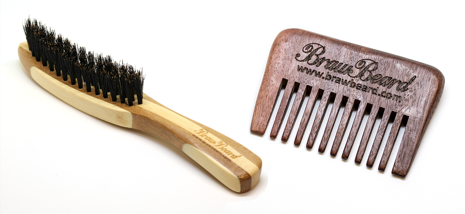 Beard brush vs comb. Which is best for you?