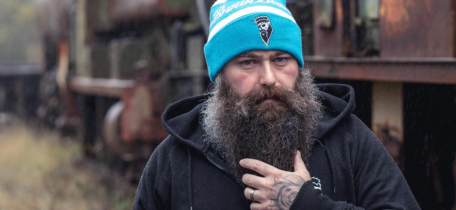 Braw Beard oils Scotland dirty beard