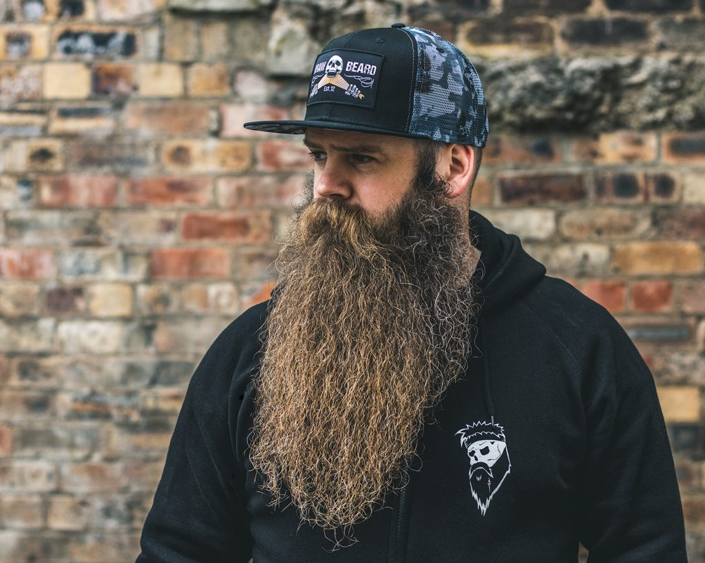 Braw Beard oils Scotland beard cover