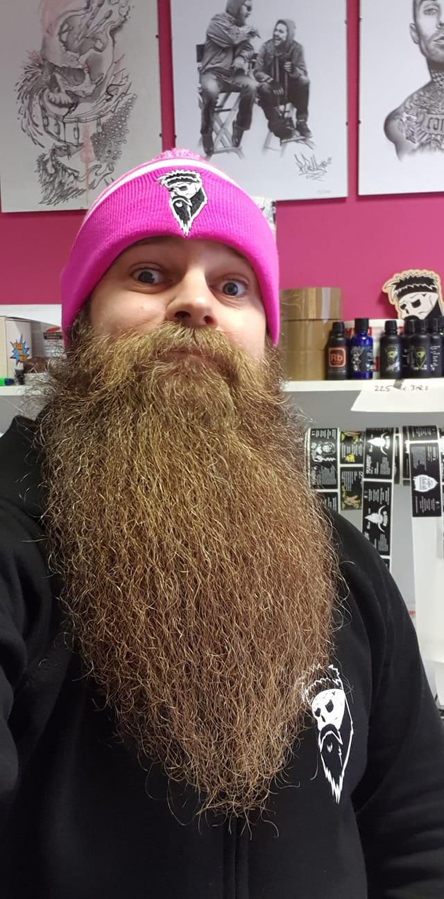 daily beard routine
