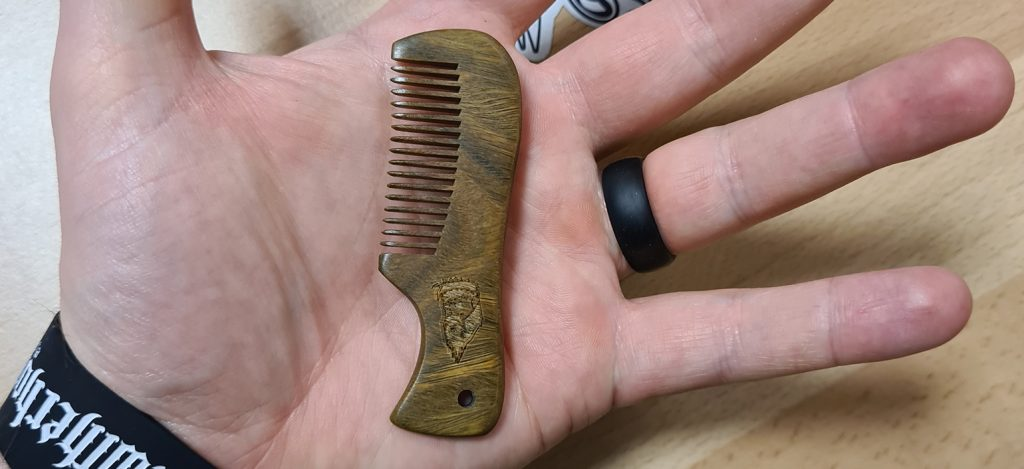 Moustache comb. Choosing the right one for you.