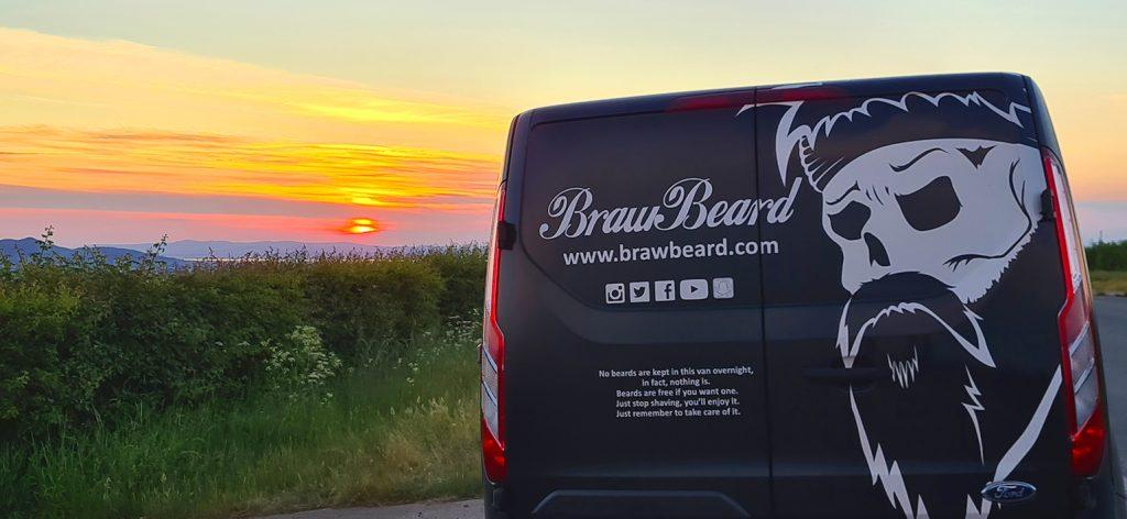 The bearded life. 8 years of Braw Beard so far!