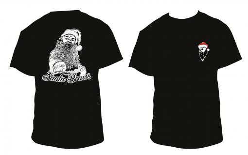 santa braws tshirt